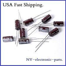 (50PCS) 120UF 16V NICHICON RADIAL ELECTROLYTIC CAPACITOR PW(M) 6X12MM 16V120UF