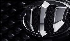 Brenthon Front Grill Trunk Emblem Badge For 2013~2016 Hyundai Santa Fe XL 2PC