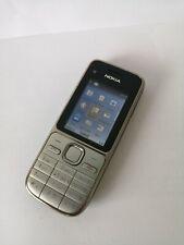 Nokia C2-01 - Silver (Orange) Mobile Phone