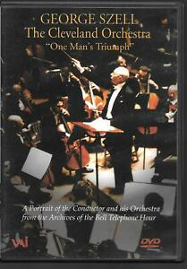 George Szell - The Cleveland Orchestra: 'Un Man's Triumph' , Occasion DVD (2004)