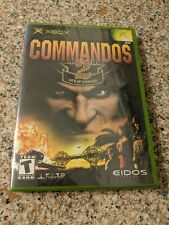 Commandos 2: Men of Courage (Microsoft Xbox, 2002) Brand New Factory Sealed