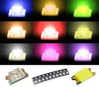 S921 Sortiment 90 Stk. SMD LEDs 1206 rot gelb grün weiß blau orange pink ww lila