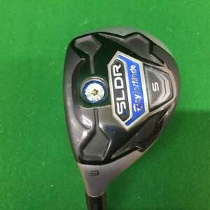 TaylorMade Left Handed SLDR No 3 Rescue with Speeder 72h Stiff Shaft