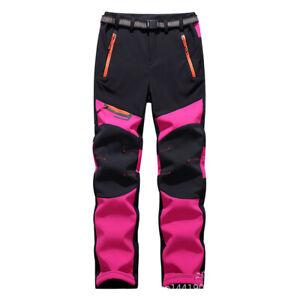 Women Hiking Pants Outdoor Sport Climbing Windproof Waterproof Warm Trousers