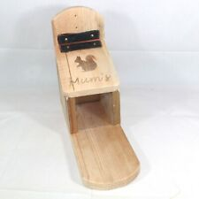 More details for mum's squirrel feeder box handmade from recycled wood by bee beautiful