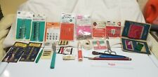 Vintage Sewing Items, Advertising Needle Books, Threads,& misc