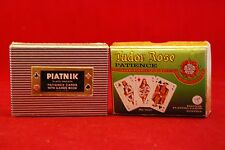 Patience Playing Cards.Tudor Rose.Piatniy.Austrian.2 x 2 Pack Boxes