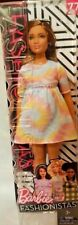 BARBIE Fashionistas 2018 Doll #77 To Tie Dye For Curvy Body Type 3+ New