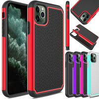 For iPhone 11/11 Pro Max/XR Shockproof Rugged Hard Slim Armor Phone Case Cover