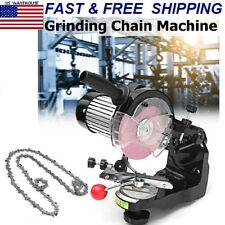 Electric Chainsaw Sharpener Grinding Wheels Bench Saw Chain Grinder Tools