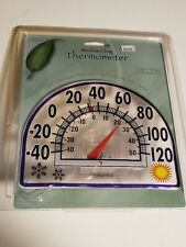 Springfield 91157 Sun Design Window Cling Thermometer -40 to 120 Degrees New