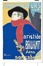 Toulouse Lautrec Lithographie ancienne Aristide Bruant