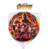 24 Avengers Infinity War Movie MCU Marvel Sticker Label Bag Lollipop Party Favor