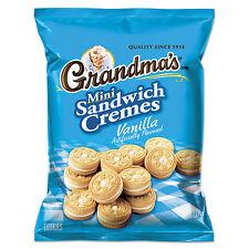 Grandma's Mini Vanilla Crème Sandwich Cookies 3.71 oz 24/Carton 45095