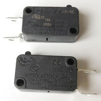 2Pcs KEDU HY50-17 125V//20A 250V//15A NC Normally Closed NO Normally Open 3 Pin Microwave Oven Microswitch Micro Switches