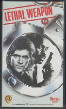 Lethal Weapon VHS