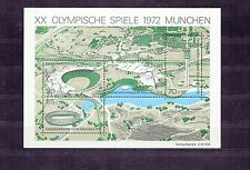 ALLEMAGNE Germany Bloc Feuillet Yvert N°  6 Neuf luxe Jeux Olympiques  MUNICH 72