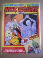 NICK RAIDER Speciale n°5 Edizione Bonelli    [G363] con albo