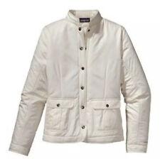 Patagonia Saluki Women's Jacket Size Xs Ivory Euc
