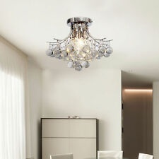 HOMCOM Modern K9 Crystal Ceiling Lighting Chandelier Light Lamp