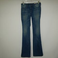 Siwy Womens Blue Harley Boot Cut Jeans Size 26