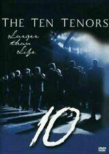 The Ten Tenors 10 - Larger Than Life DVD 2004 Australian Pop Classical Concert