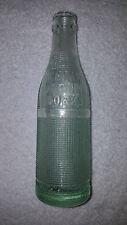 OKEMAH BOTTLING WORKS VERY RARE OLD EMBOSSED Soda Pop Bottle, OKLAHOMA,OK,OKLA