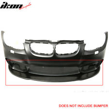 V2 Style PU Front Bumper Lip Spoiler For 11-13 BMW E92 LCI Models With M4 Bumper
