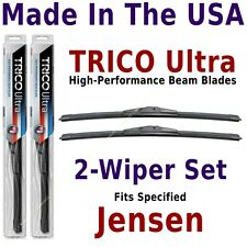 Buy American: TRICO Ultra 2-Wiper Blade Set fits listed Jensen: 13-16-16
