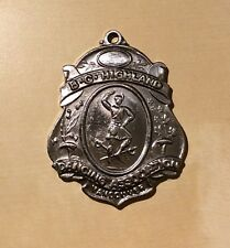 Vancouver BC Highland Dancing Association Silver Colored Medal - No Date