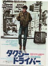 Taxi Driver 1976 Martin Scorsese Japanese Chirashi Flyer Mini Movie Poster