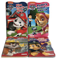 NEW! Lot Of 4 Paw Patrol Board Books, Baby Toddlers Children's Books