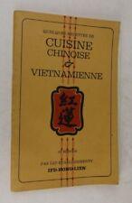 Quelques recettes de cuisine chinoise et vietnamienne