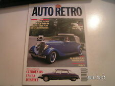 **e Auto Moto Rétro n°144 Maserati Sebring / 60 ans du V8 Ford /