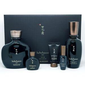 Sulwhasoo Bonyun Men Basic Gift Set 5 Items Serum Emulsion Sun Cream K-Beauty