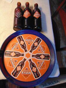 Orange Crush beverage tray with 3 bottles