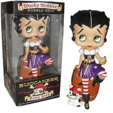 BETTY BOOP Pirate Bobble head  New SEALED slightly Damaged Packaging