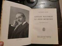 Giulio Ricordi e i suoi musicisti.