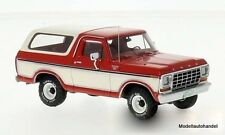 Ford Bronco 1978 rot/weiss  NEO 1:43 46910