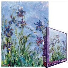 Jigsaw Puzzle eg60002034 Eurographics Puzzle 1000 PEZZI IRIS Claude Monet