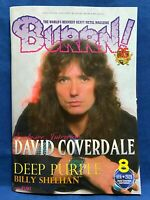BURRN August 2020 Hard Rock Heavy Metal Magazine Japan Whitesnake Deep Purple
