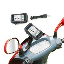 Support telephone Housse etanche support GPS moto Support smartphone scooter MP3