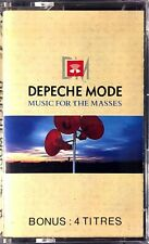 FRENCH CASSETTE AUDIO ALBUM DEPECHE MODE MUSIC FOR THE MASSES EDITION COMME NEUF