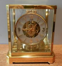 1960's Jaeger LeCoultre Atmos Clock Model 528-8 # 118277 Runs Great new bellows