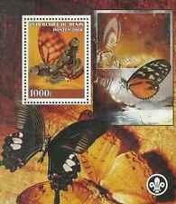 Timbre Papillons Bénin ** année 2008 lot 1927