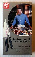 Instructional Knife Skills ~ Rare New Sealed VHS Movie Video Tape ~ Tim Shiebler