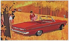 1963 Dodge DART GT CONVERTIBLE Vintage Dealer NOS Promo Postcard UNUSED VG+/Ex