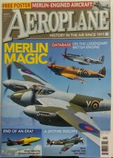 Aeroplane July 2017 Merlin Magic Legendary British Engine FREE SHIPPING sb