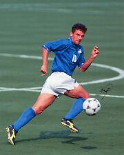 Roberto BAGGIO-ITALIA-USA'94 - Firmato Autografo RISTAMPA