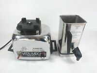 Vita-Mix 3600 Motor Base and Stainless Steal Container - No Lid - K28M